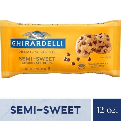 Ghirardelli Semi-Sweet Chocolate Premium Baking Chips - 12oz - image 1 of 4