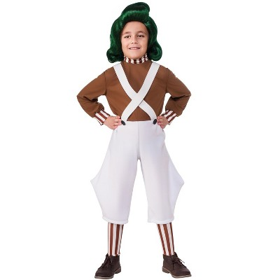 Willy Wonka & the Chocolate Factory Oompa Loompa Child Costume