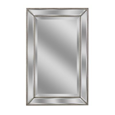 """20"""" x 32"""" Metro Beaded Mirror - Head West"""