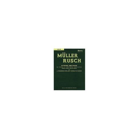 KJOS Muller-Rusch String Method 1 Violin Book - image 1 of 1