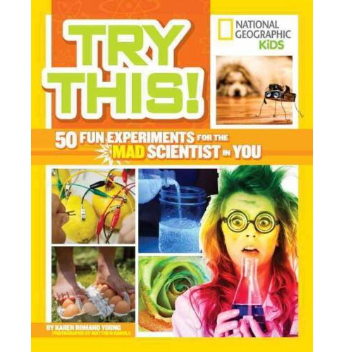 Try This! : 50 Fun Experiments for the Mad Scientist in You (Paperback) (Karen Romano Young) - image 1 of 1
