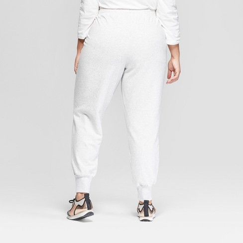 8730d04cb5a11 Women s Plus Size Jogger Pants - Ava   Viv™ Gray   Target