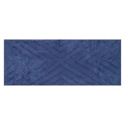Textured Stripe Bath Rug Runner (23 X58 )Balanced Blue - Project 62™ + Nate Berkus™