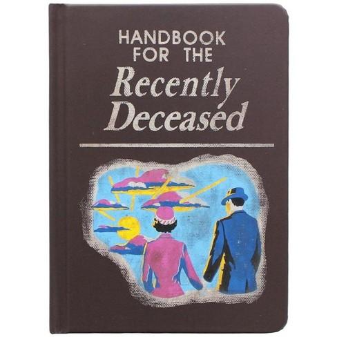 Nerd Block Beetlejuice Handbook for the Recently Deceased Notebook - image 1 of 1