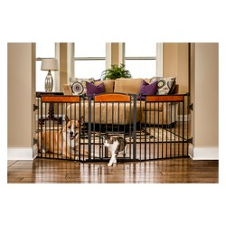 Carlson Deluxe Flexi Cat and Dog Gate