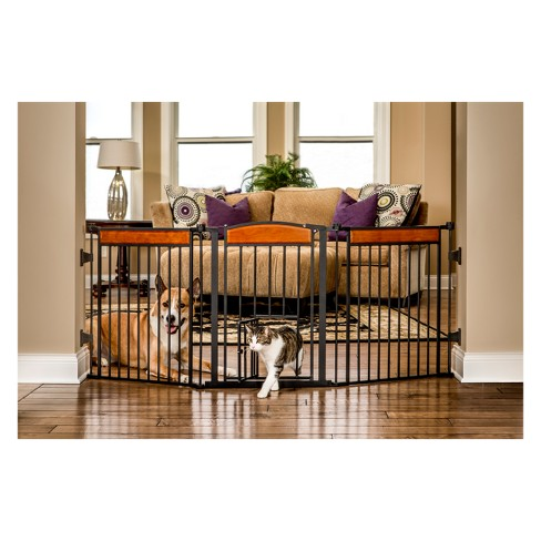 Carlson Deluxe Flexi Cat and Dog Gate - image 1 of 3