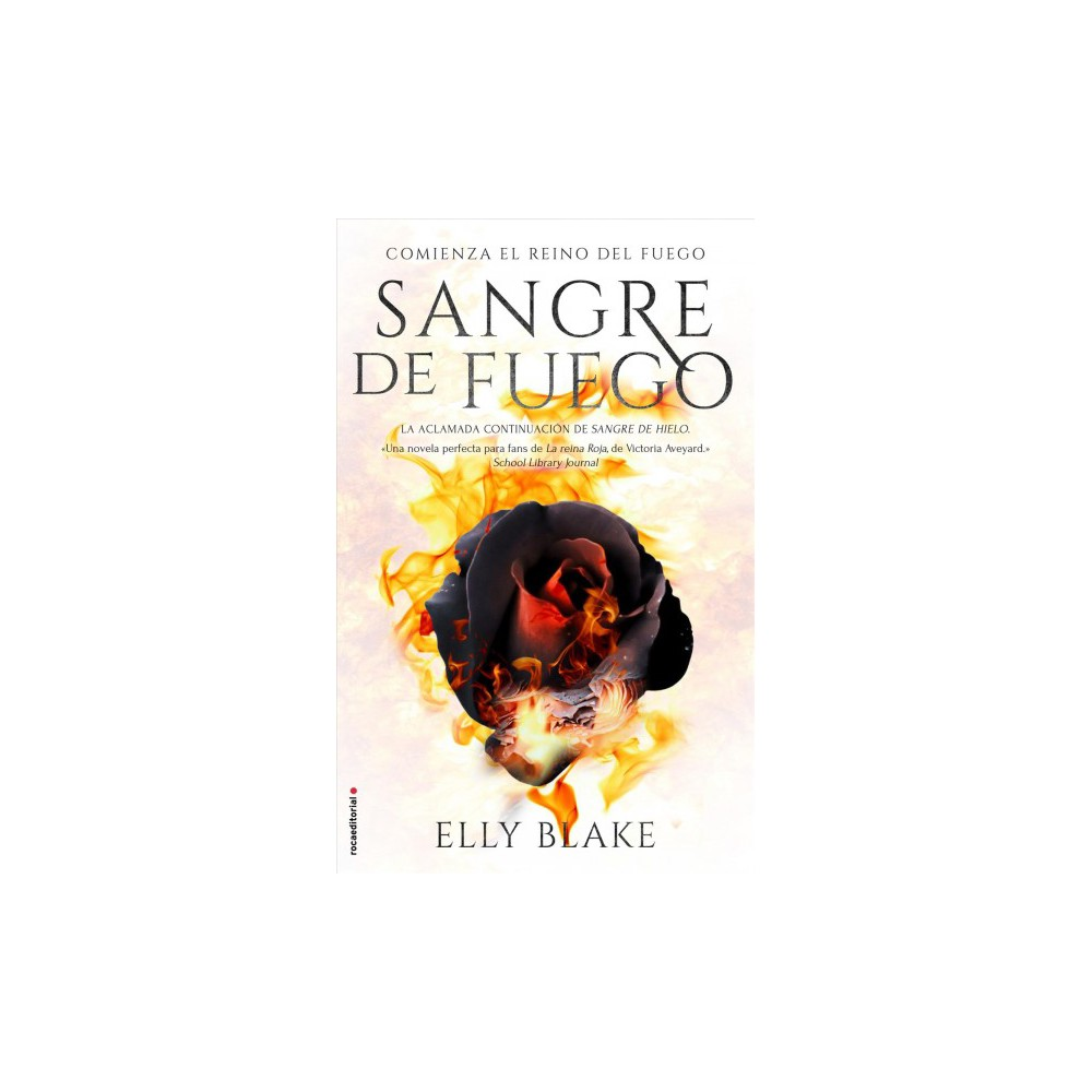 Sangre de fuego / Fire Blood - by Elly Blake (Paperback)