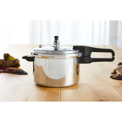 IMUSA 7.4 Quart Pressure Cooker - Silver