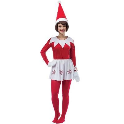 Elf of the Shelf Elf On A Shelf Female Adult Costume