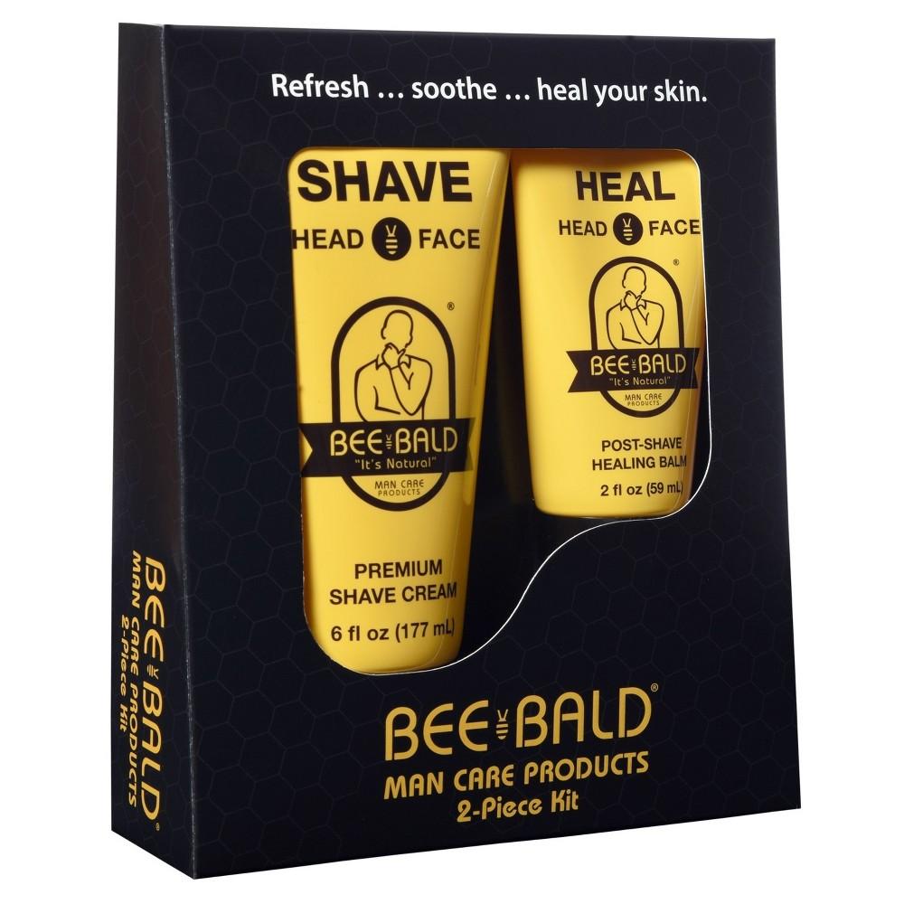 Bee Bald Shaving Travel Kit - 2pc