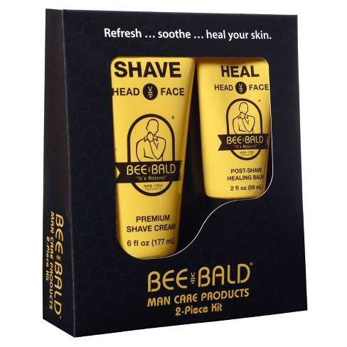 Bee Bald® Shaving Travel Kit - 2pc - image 1 of 1