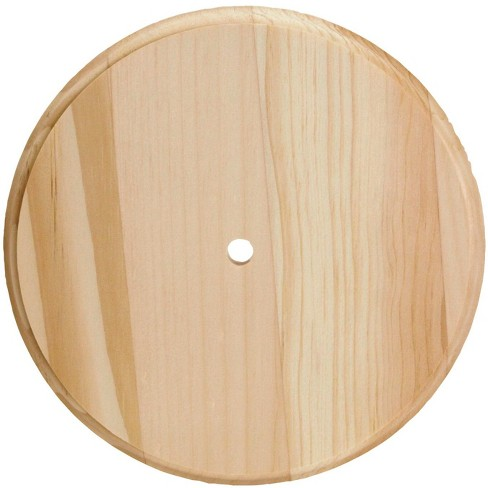 Walnut Hollow Round Clock Surface, 6-3/4 Dia in, Solid Pine, pk of 12 - image 1 of 3
