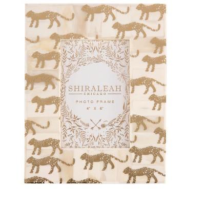 Paris Cheetah Print 4X6 Frame