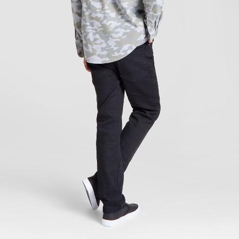 f710549a2 Boys' Straight Fit Jeans - Cat & Jack™ Black Wash 18 Husky : Target