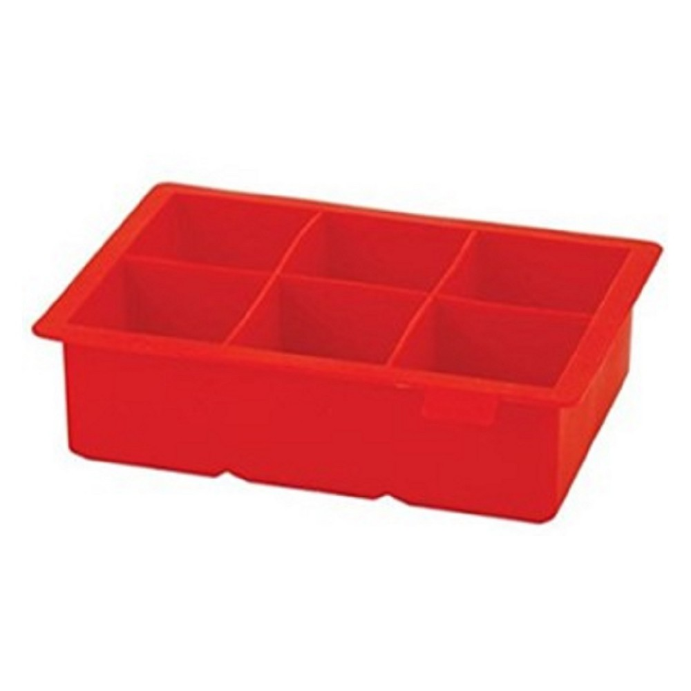 Image of Houdini Silicone Ice Tray Red