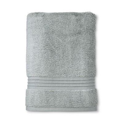 MicroCotton® Spa Bath Towel Gray - Fieldcrest®