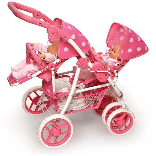 Badger Basket Reversible Double Doll Stroller image number null