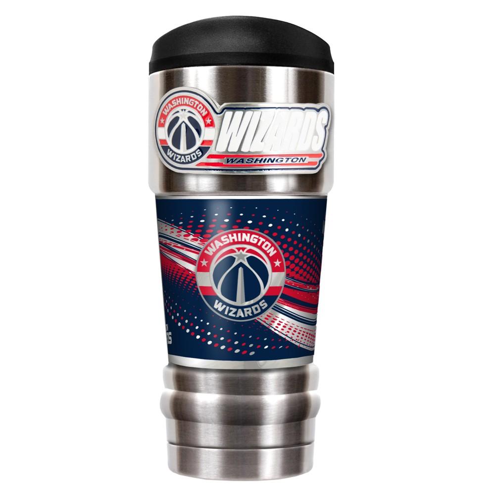 NBA Washington Wizards 18oz Mvp Vacuum Insulated Stainless Steel Travel Tumbler