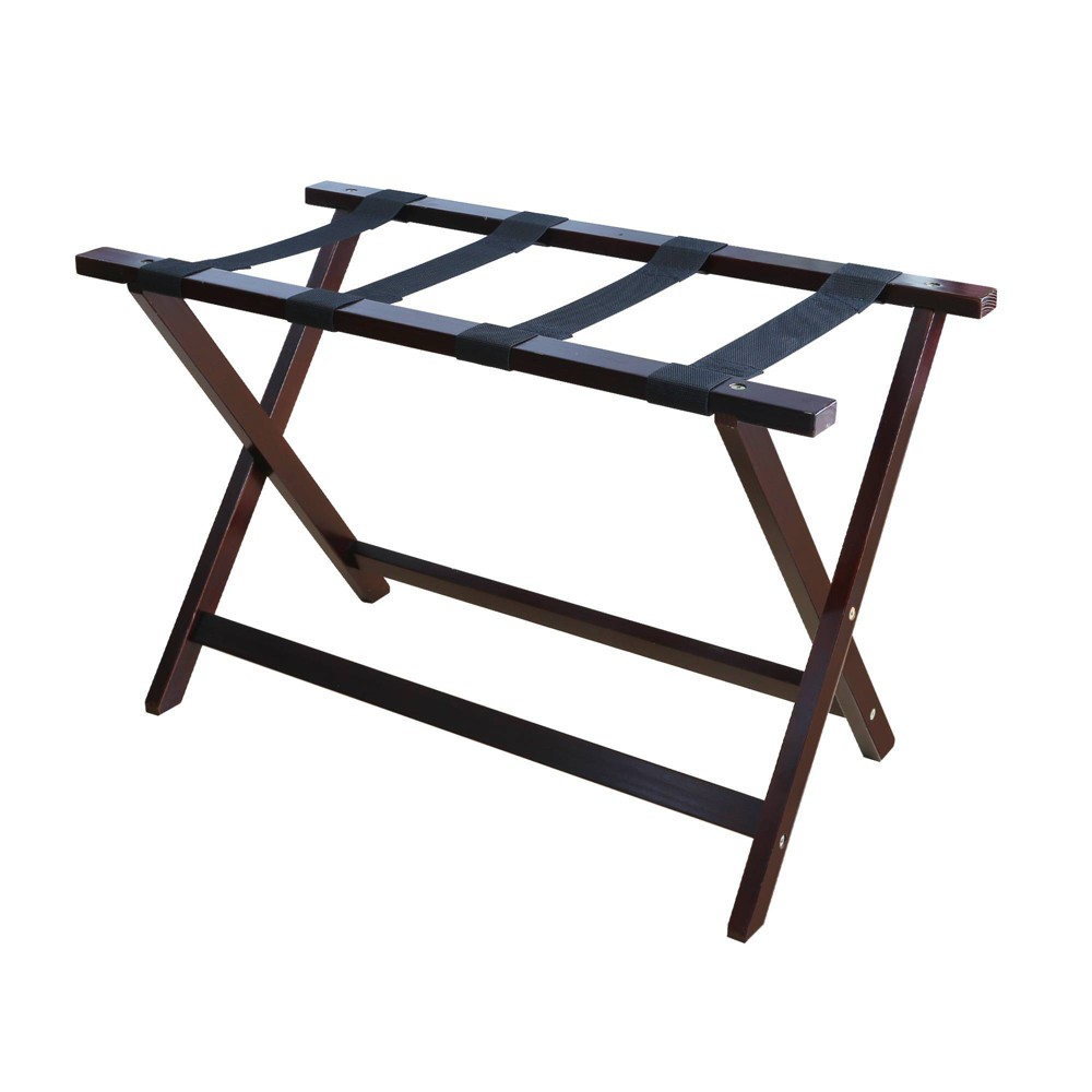 Image of Luggage Rack Espresso - Flora Home