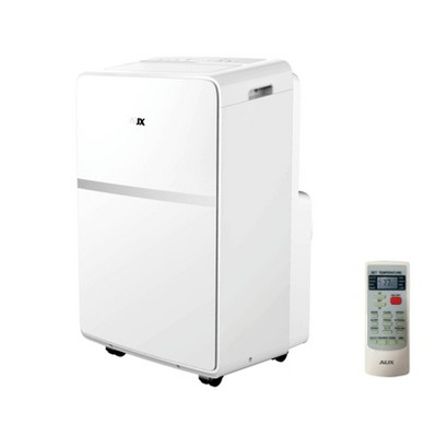 AUX 10000 BTU (6500 BTU/DOE) Portable Air Conditioner AM-06A9A3/MCR1-F7 with Remote Control White