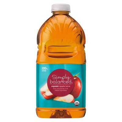 Organic Apple Juice - 64 fl oz Bottle - Simply Balanced™