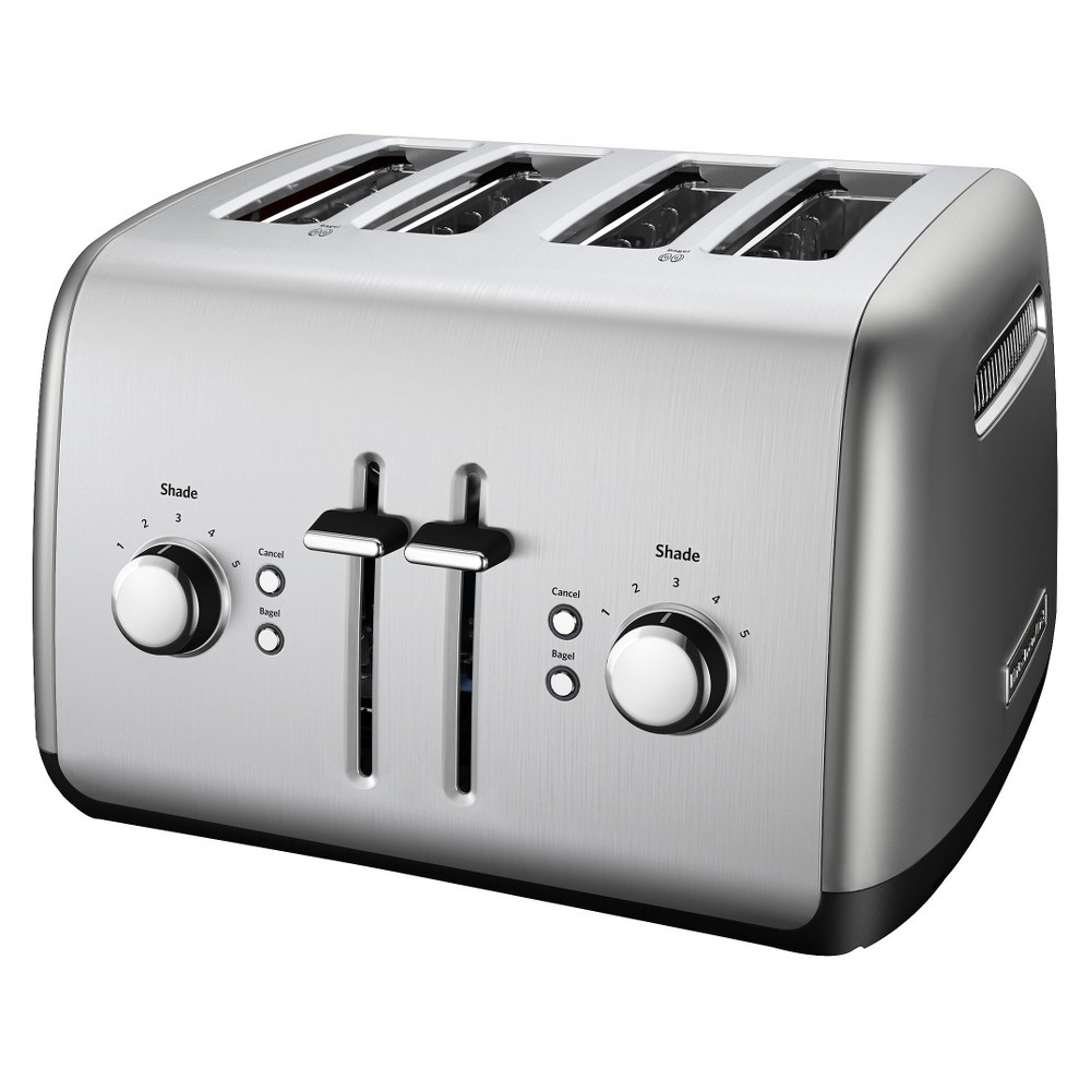 KitchenAid 4-Slice Toaster – KMT4115, Silver 14045968