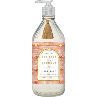 Chateau Hand Soap Sea Salt and Coconut - 16 fl oz