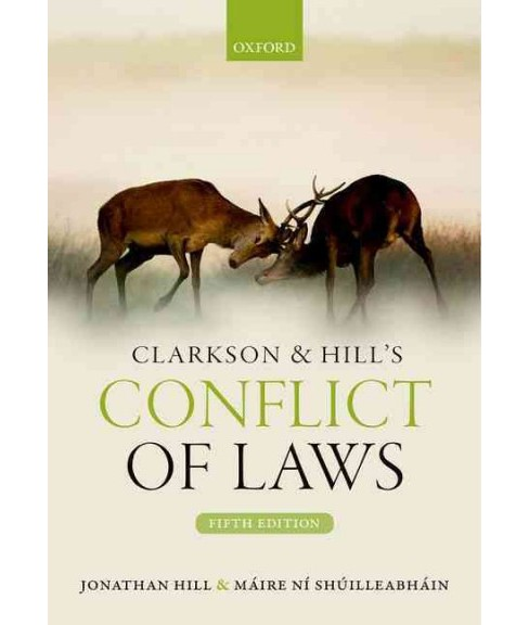 Conflict of Laws (Paperback) (Jonathan Hill) - image 1 of 1