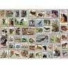 Eurographics Inc. Animals of North America Vintage Stamps 500 Piece Jigsaw Puzzle - image 3 of 4