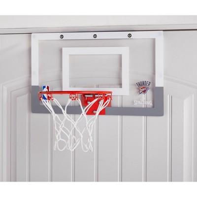 Spalding NBA Slam Jam Over The Door Team Edition Basketball Hoop : Target