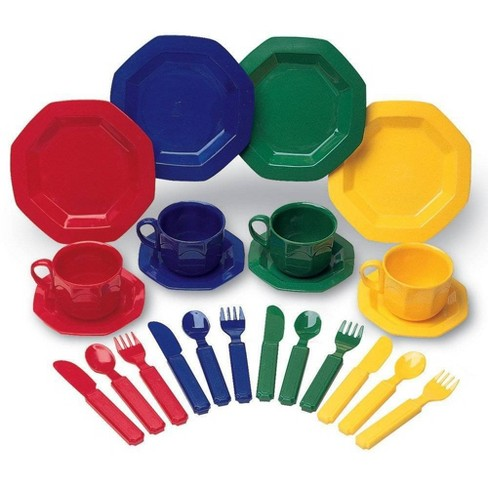 Learning Resources Pretend and Play Dish Set - image 1 of 4