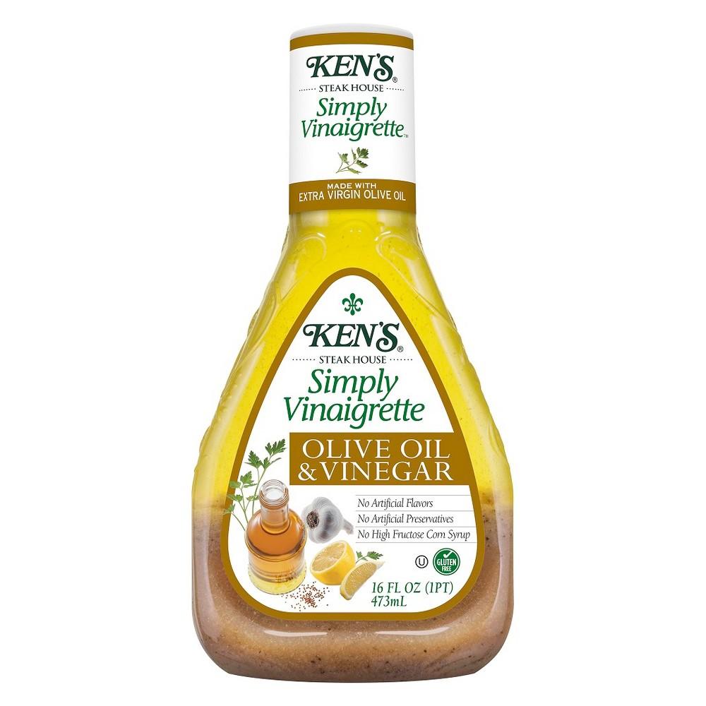 Ken's Simply Vinaigrette Olive Oil & Vinegar Dressing - 16 fl oz