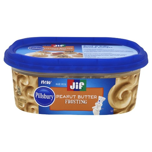 Jif Chocolate Peanut Butter Frosting - 11oz - image 1 of 1