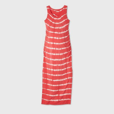 Printed Sleeveless Knit Maternity Dress - Isabel by Ingrid & Isabel™ Red M