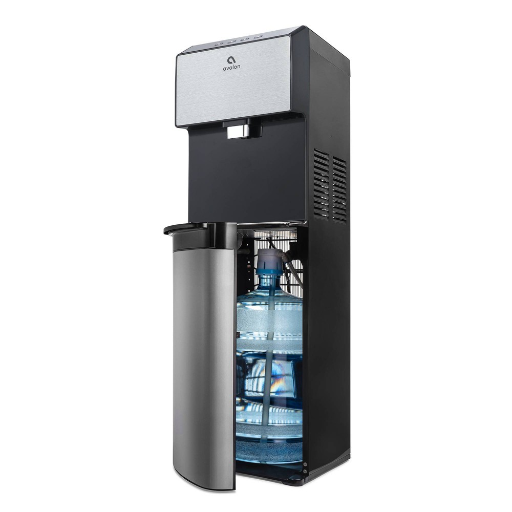 Image of Avalon Bottom-Loading Water Cooler and Dispenser, Silver