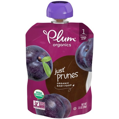 Plum Organics Stage 1 Just Prunes Baby Food - (Select Count) - image 1 of 4