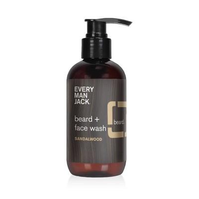 Facial Cleanser: Every Man Jack Beard + Face Wash