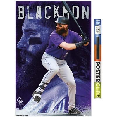 Trends International MLB Colorado Rockies - Charlie Blackmon 18 Unframed Wall Poster Prints