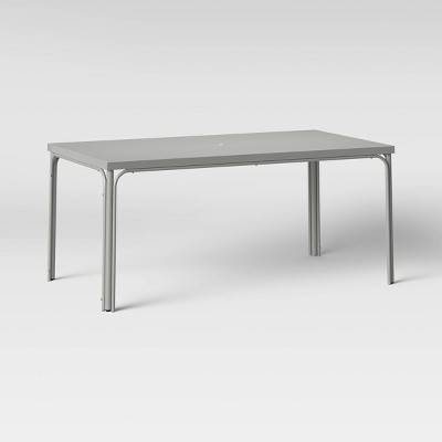Timo Knife Edge 6-Person Rectangle Patio Dining Table - Project 62™