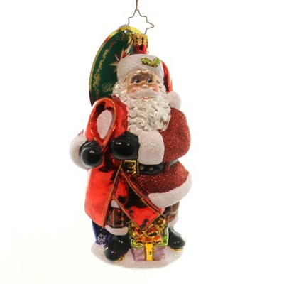 Christopher Radko Caring Claus Aids Awareness Charity  -  Tree Ornaments