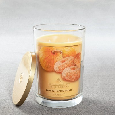 Glass Jar Pumpkin Spice Donut Candle - Home Scents
