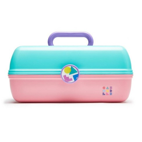 Caboodles On The Go Girl Case - Blue/Pink - image 1 of 2