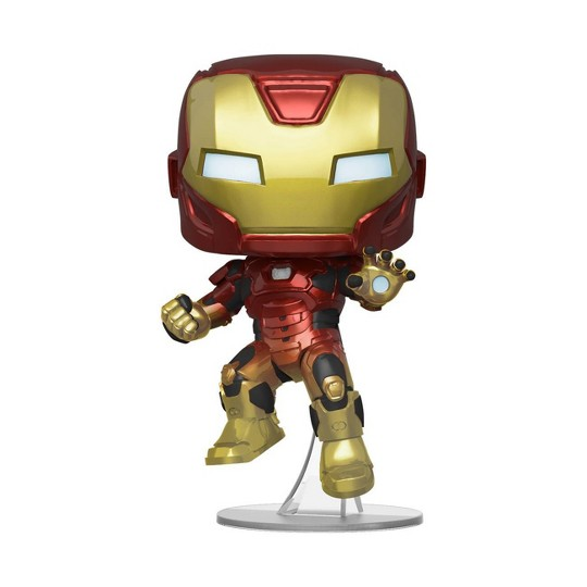 Funko POP! Marvel: Avengers Game - Iron Man (Space) (Target Exclusive) image number null