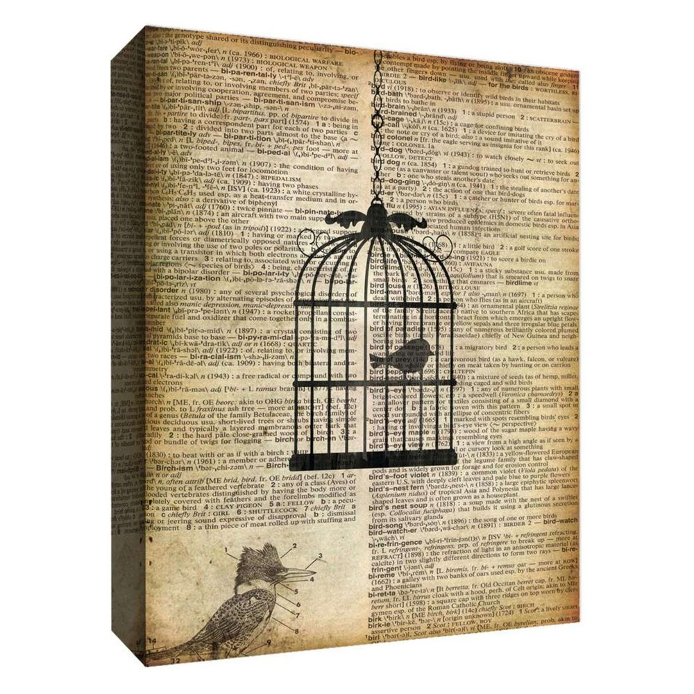 """Image of """"Canary Decorative Canvas Wall Art 11""""""""x14"""""""" - PTM Images"""""""