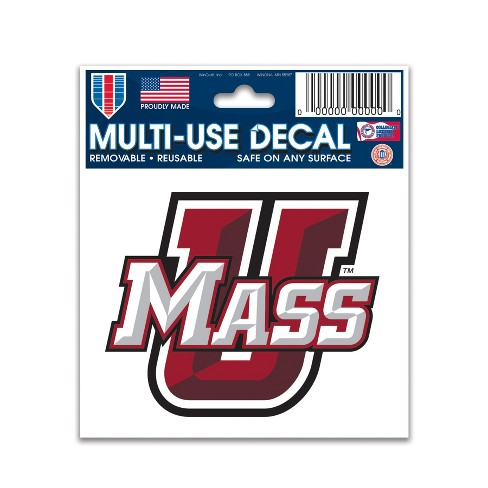 NCAA UMass Minutemen Decal - image 1 of 1