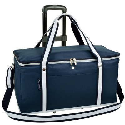 Picnic at Ascot Ultimate Travel Cooler with Wheels - 36 Quart - Combines Best Qualities of Hard & Soft Collapsible Coolers
