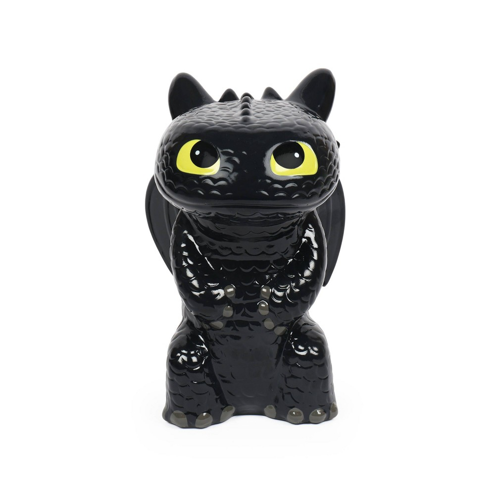 Image of How to Train your Dragon 3 Toothless Coin Bank, Black