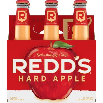 Redd's Hard Apple Ale Beer - 6pk/12 fl oz Bottles