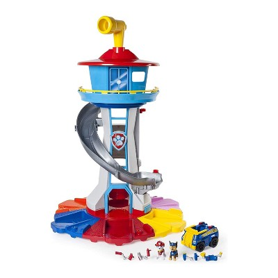 Paw Patrol 6042018 My Size Kids Lookout Tower with Exclusive Vehicle, Periscope Lights and Sounds, Ages 3 and Up