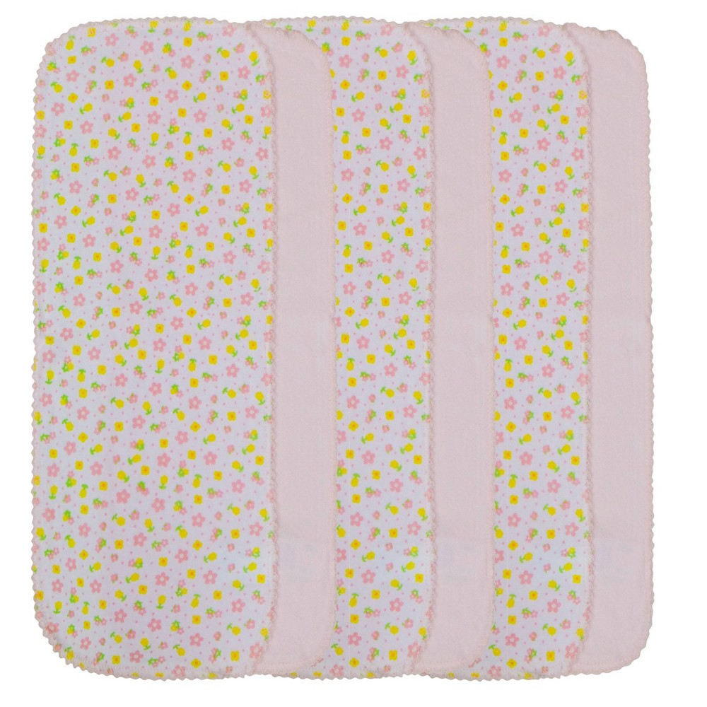 Image of Neat Solutions Burpcloth - Girl (6 pack), Pink